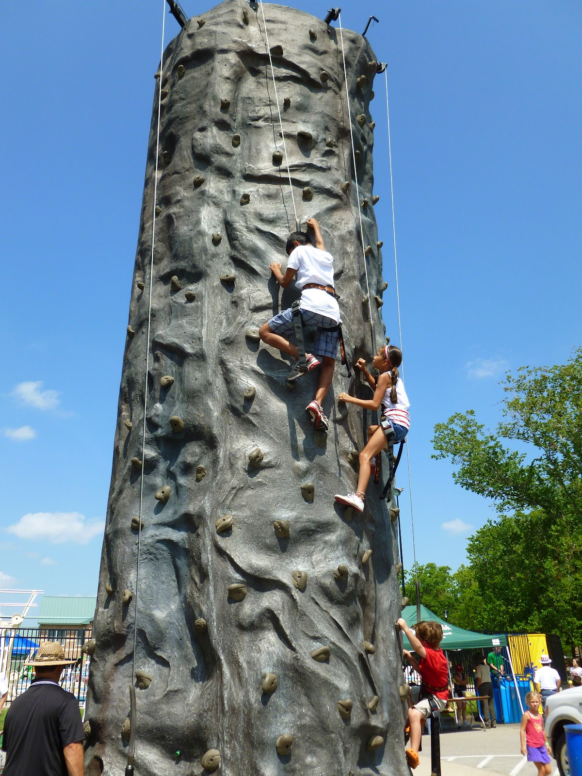 Houston Party Rentals and Family Fun Events Rock Climbing