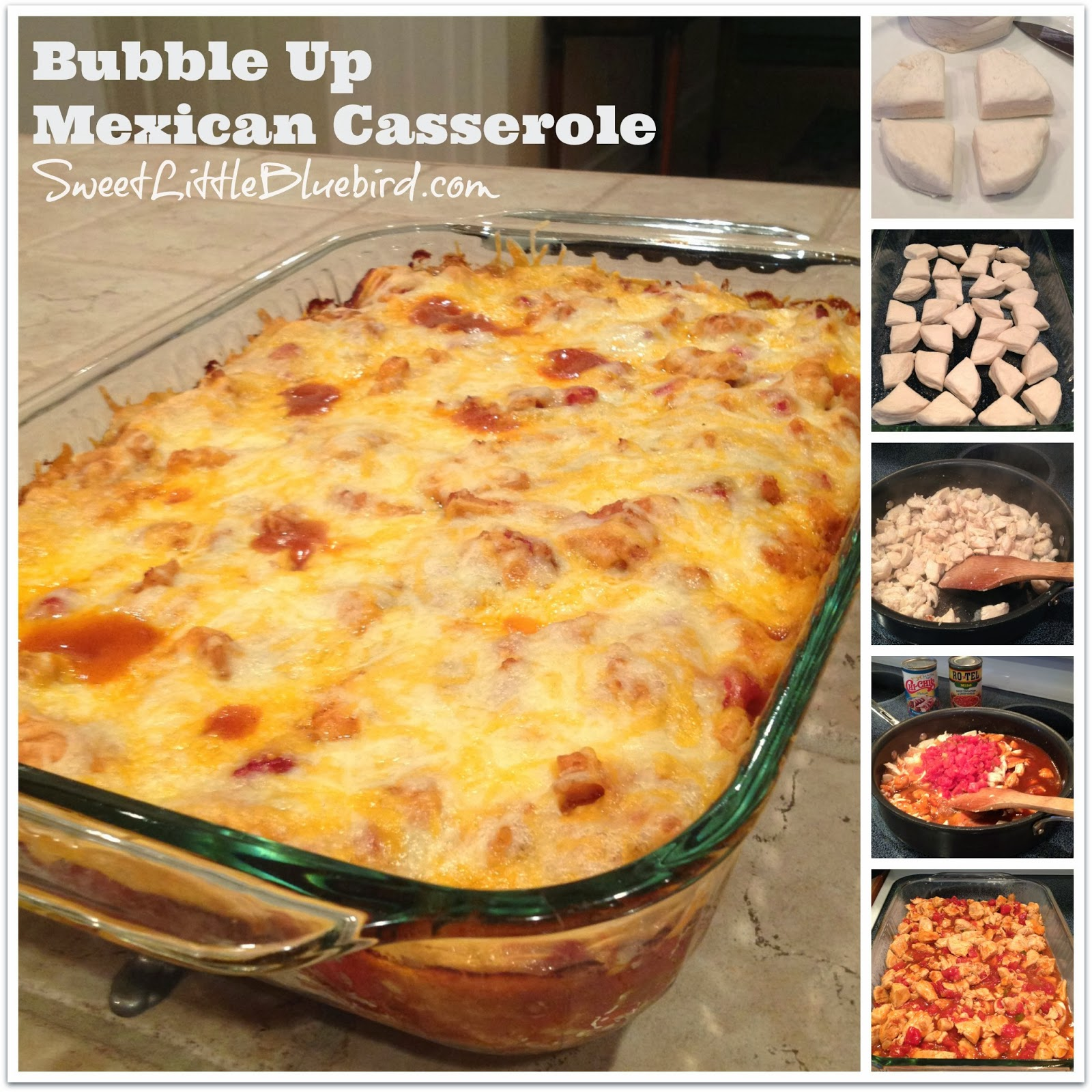 Sweet Little Bluebird: Bubble Up Mexican Casserole