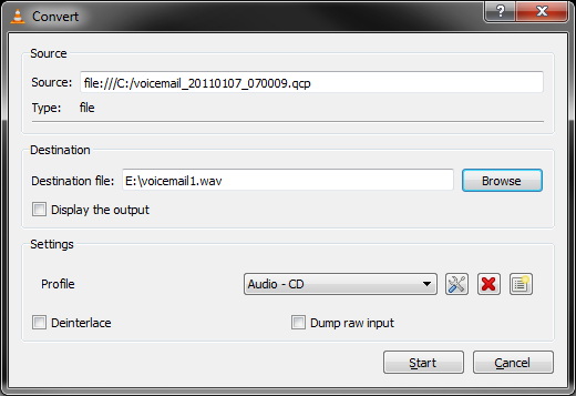 qcp file converter