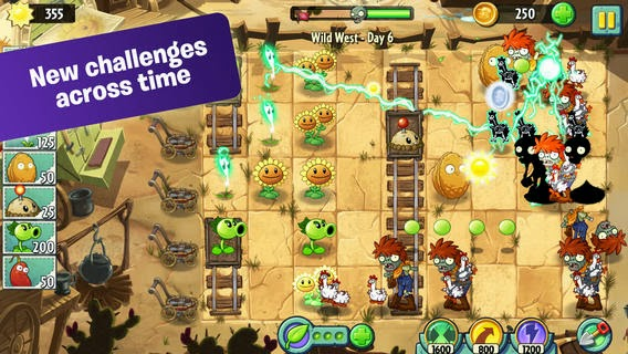 Game Plants Vs Zombies 2 It's About Time v1.0.1 Apk Terbaru