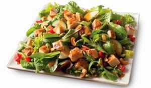 ... : New Wendy's Salads: Asian Cashew Chicken and BBQ Ranch Chicken