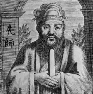 Confucius. Click.