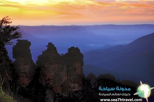 الجبال الزرقاء في استراليا