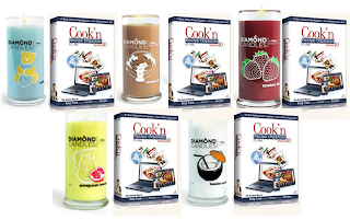 cookn+5 Cookn & Diamond Candle Giveaway!