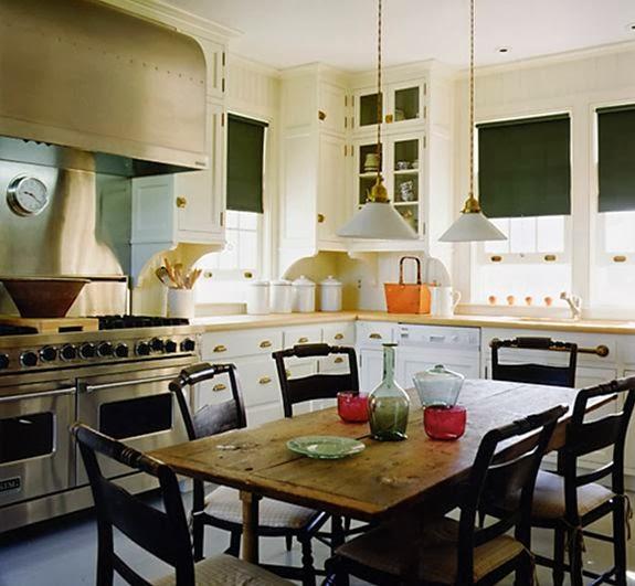 Kitchen Table Door: Little Black Door: Kitchen Tables In The Kitchen