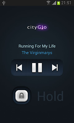 CityGlo Music Player app
