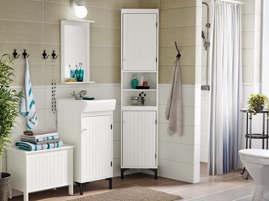 Cute pinterest: ikea bathroom