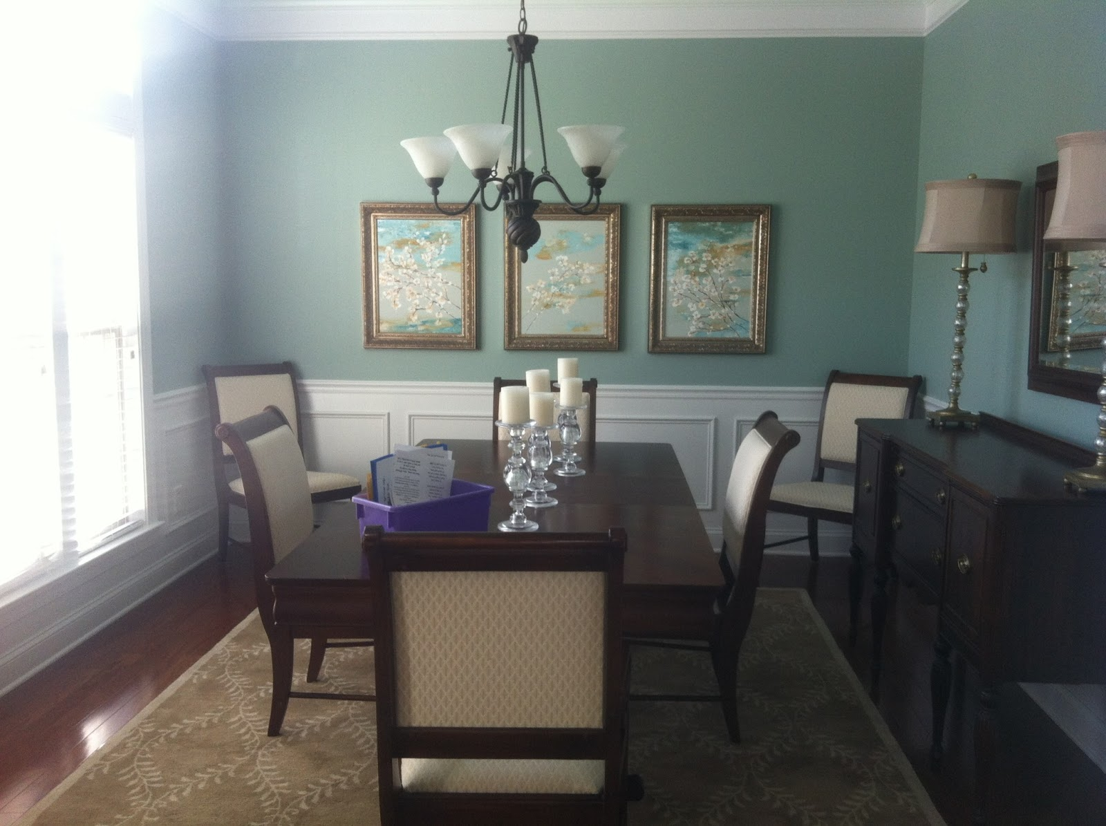 Sherwin Williams Softened Green And Dover White