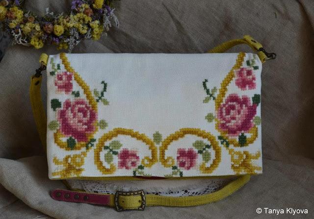 Вишивана сумочка, дизайнер Таня Кльова