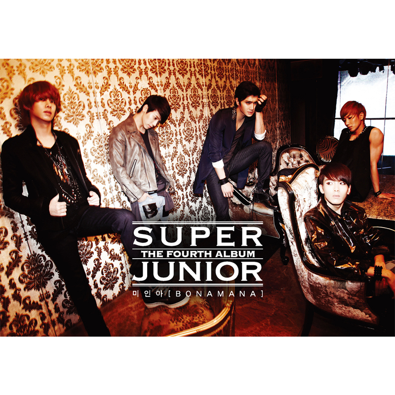[Album] Super Junior   The 4th Album Bonamana [Repackage] [iTunes Plus AAC]
