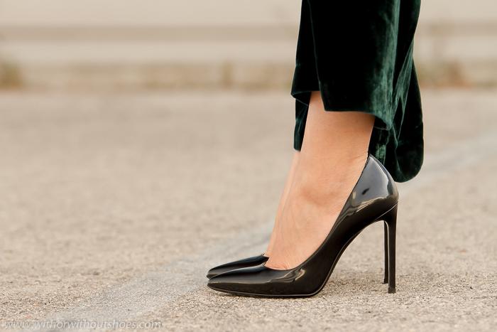 BLogger Adicta a los zapatos con zapatos de marca YSL Saint Laurent