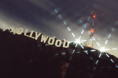 Hollywood Sign Night Wallpaper Images