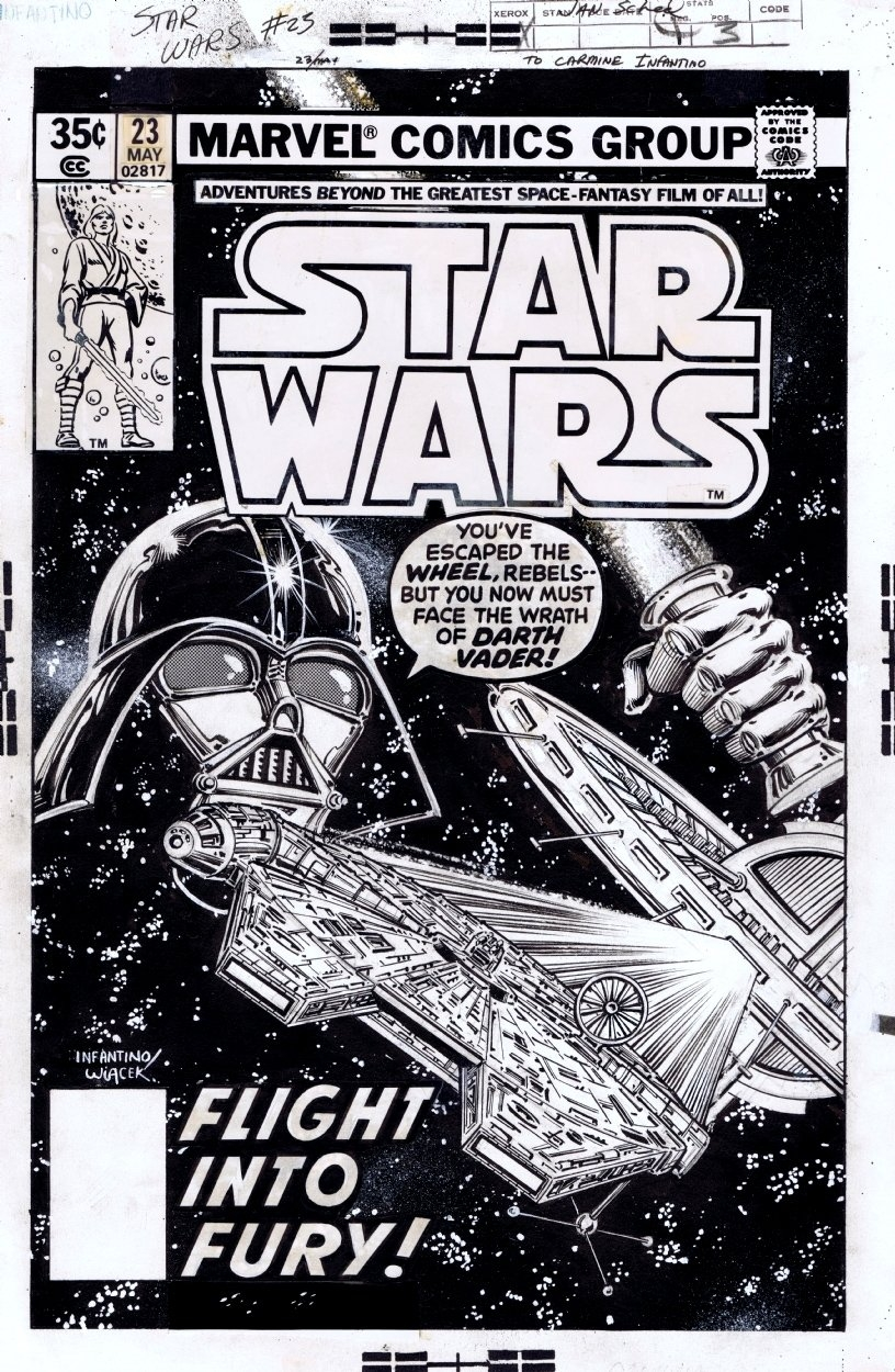STAR FORCE VOL 1 #3 1980- STAR WARS 3, DARTH VADER V YODA, Clash of the Titans,