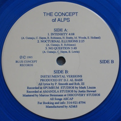 The Concept Of Alps – Intensity EP (Vinyl) (1995) (192 kbps)