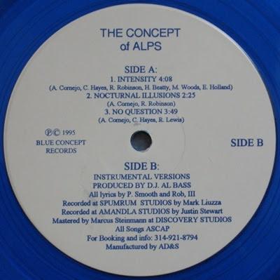 The Concept Of Alps – Intensity EP (Vinyl) (1995) (192 kbps)