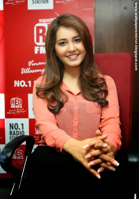 Rashi Khanna latest photos at Red FM Archives