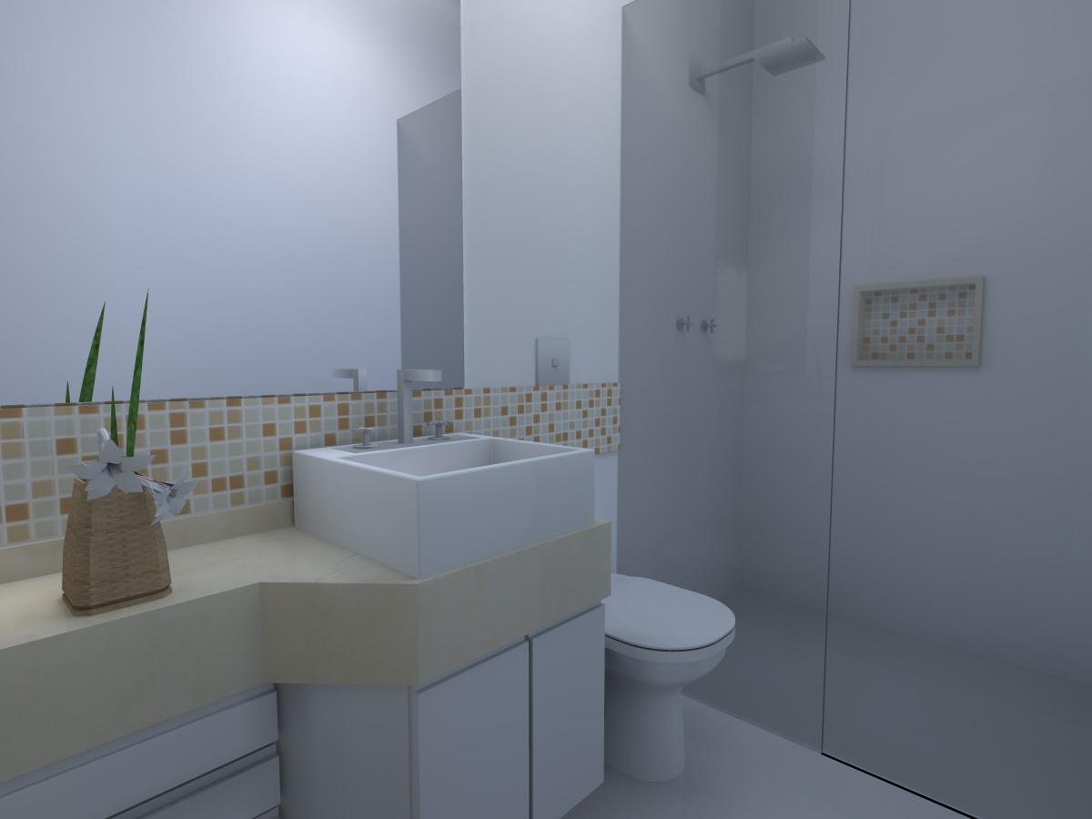 Marcela Dias Arquitetura e Interiores: BANHEIROS #4E5C7D 1200x900 Arquitetura Para Banheiro