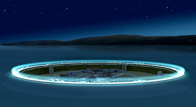 2 مدينة كاملة وسط الماء   تحفة معمارية أثرية تم اكتشفها حديثاً