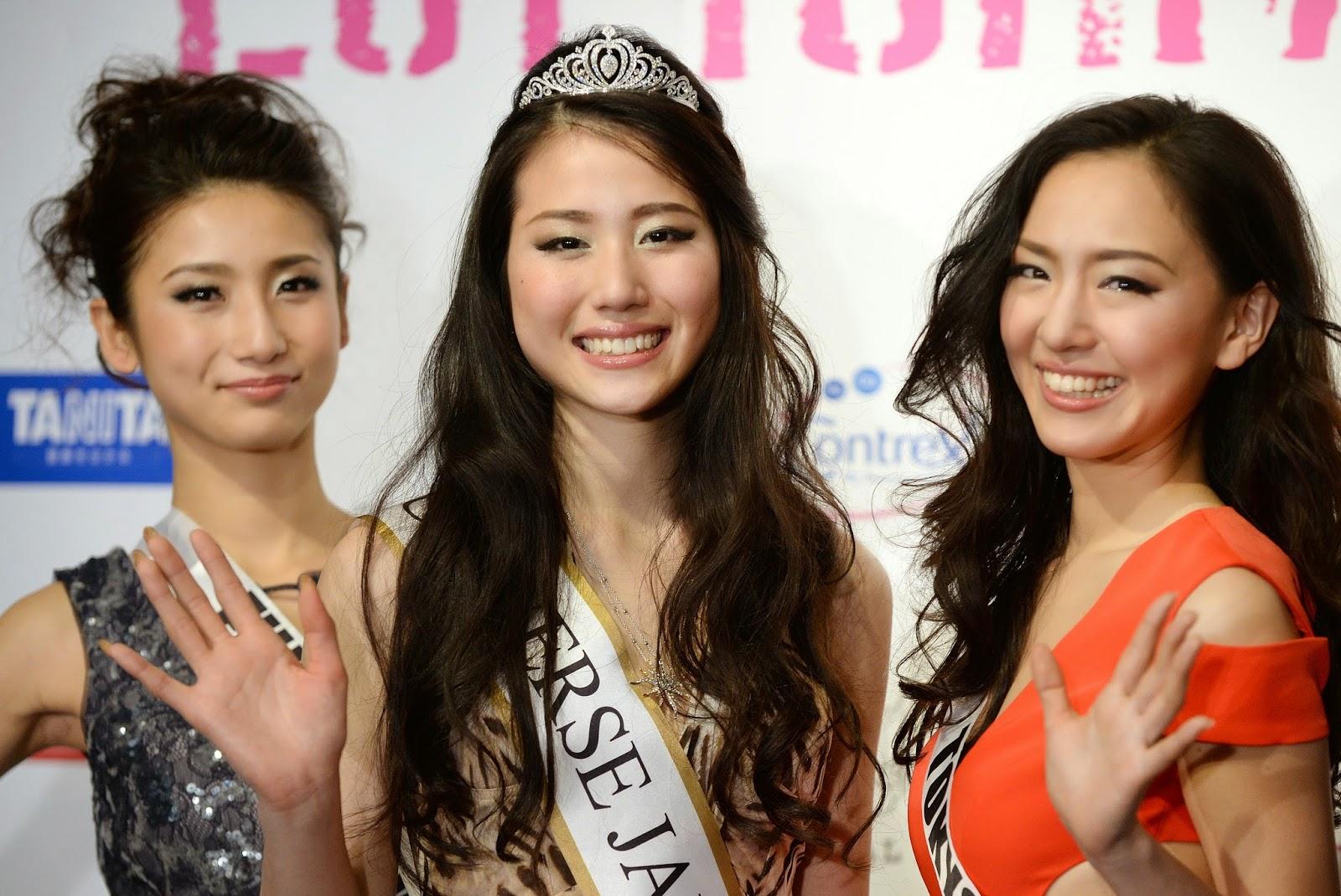 Beauty, Beauty Pageant, College Girl, Crowned, Entertainment, Japan, Japan Beauty Pageant, Keiko Tsuji, Miss Universe 2014, Tokyo, Winner of Miss Japan,