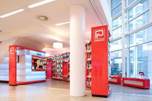 Paagman the Contemporist Bookstore Design, Bookstore Design, Contemporist Bookstore Design, Unique Bookstore Design, Simple Bookstore Design, Interior Design, Simple Library Design, Contemporist Library Design, Contemporist Design, Design