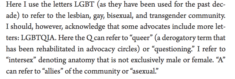example of queer theory
