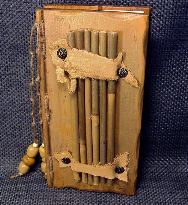 journals by jean journal 33 rustic pine wood covers with bamboo and