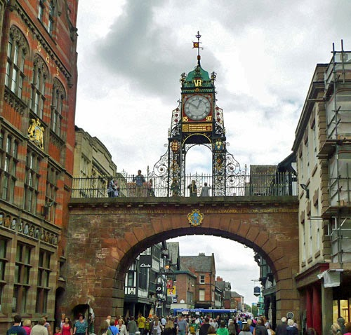 Eastgate Clock Chester, UK.