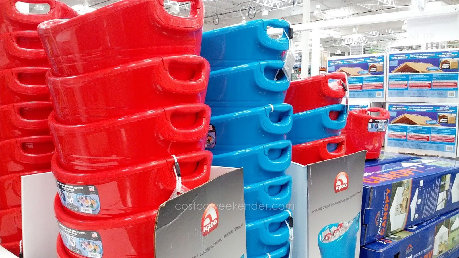 Igloo Insulated Party Bucket Cooler Costco Weekender