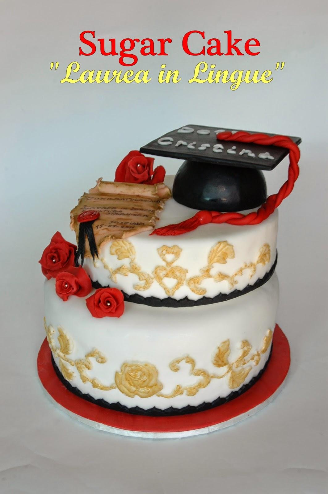 Pasticci in famiglia sugar cake laurea in lingue for Laurea in design