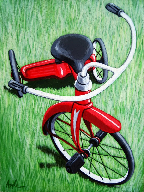 http://www.applearts.com/content/little-red-tricycle-original-painting