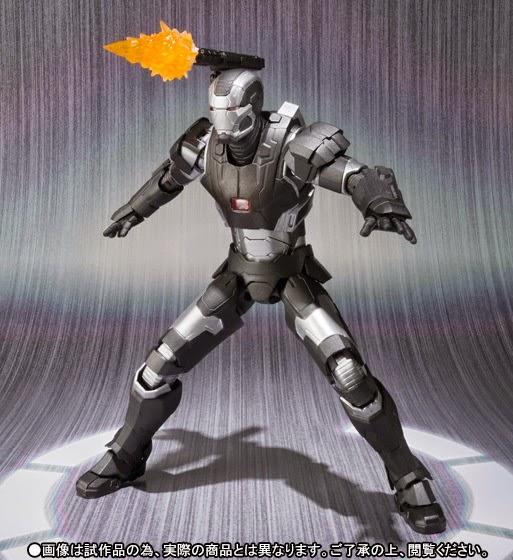 bandai action figure war machine mark II
