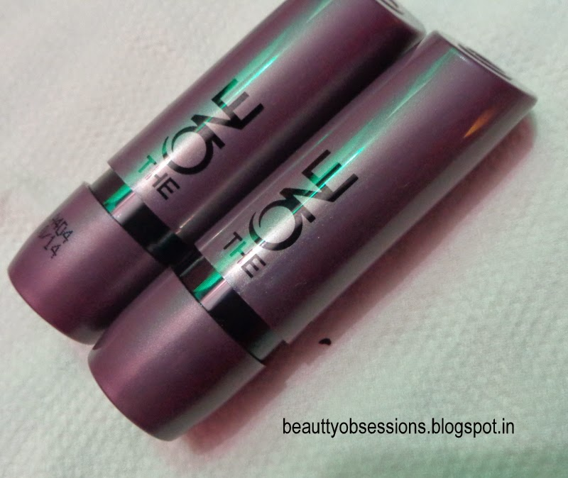 "Oriflame The ONE Matte Lipsticks ""Red Seduction"" & ""Molten Mauve"" - Review ,Price & Swatches"