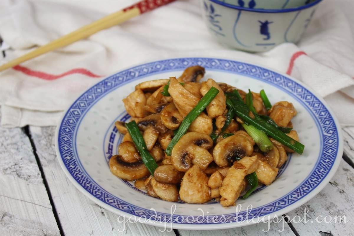 Goodyfoodies recipe chinese takeaway chicken with mushrooms recipe chinese takeaway chicken with mushrooms forumfinder Choice Image