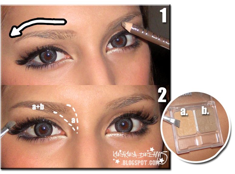 how to make my dark eyebrows look lighter