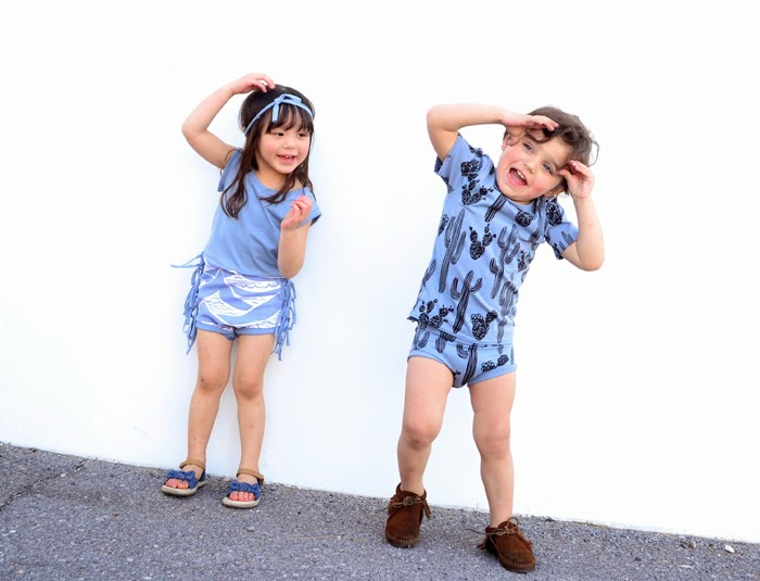 Little Cocoa Bean Spring 2014 handmade organic kidswear collection