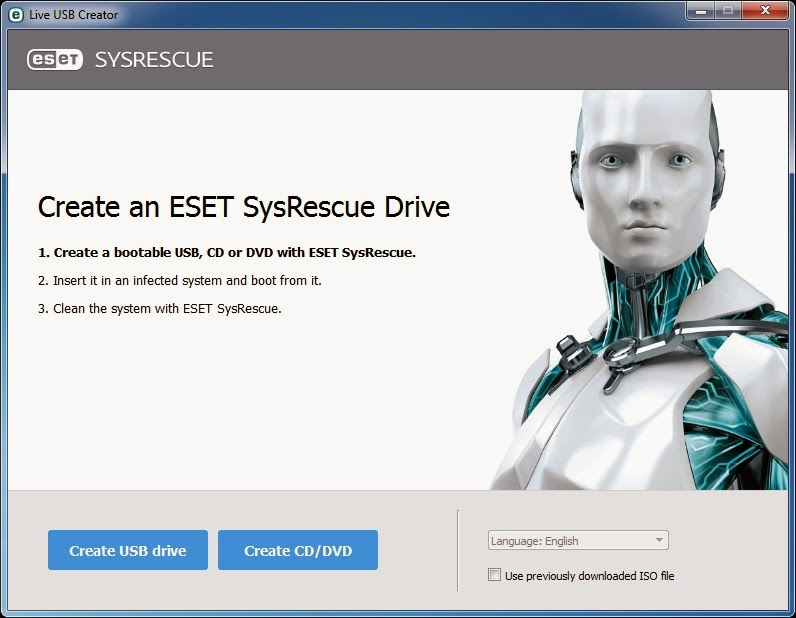 Membuat Bootable ESET SysRescue Live