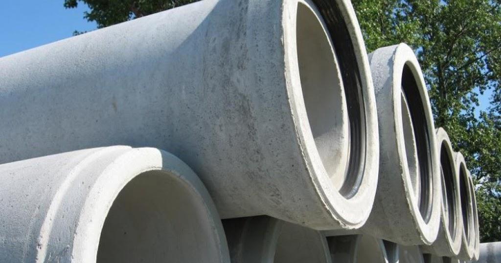 Железобетонные напорные трубы