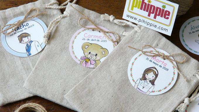 Pihippie cajas y bolsas - Bolsas de regalo personalizadas ...