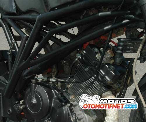 Modifikasi Suzuki Satria FU 150 Minor Fighter