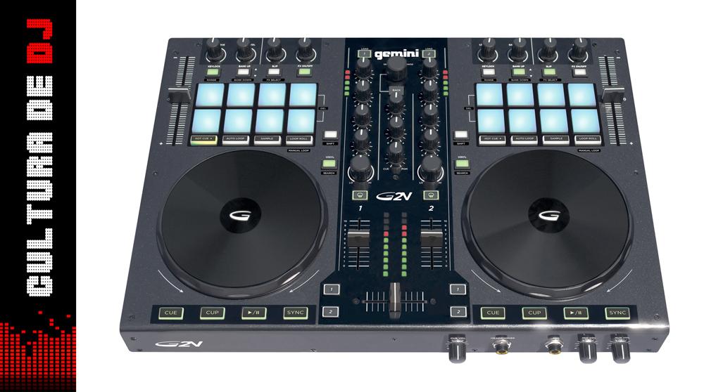 Novo controlador da Gemini DJ