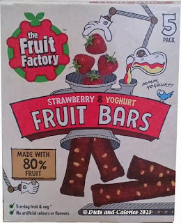 Fruit factory strawberry yogurt bar