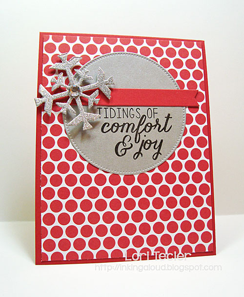 Tidings of Comfort and Joy card-designed by Lori Tecler/Inking Aloud-stamps from Reverse Confetti