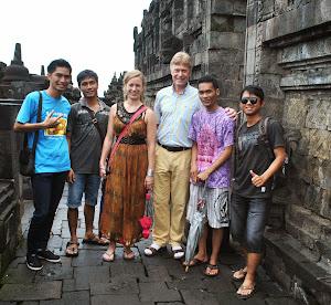 Di Candi Borobudur
