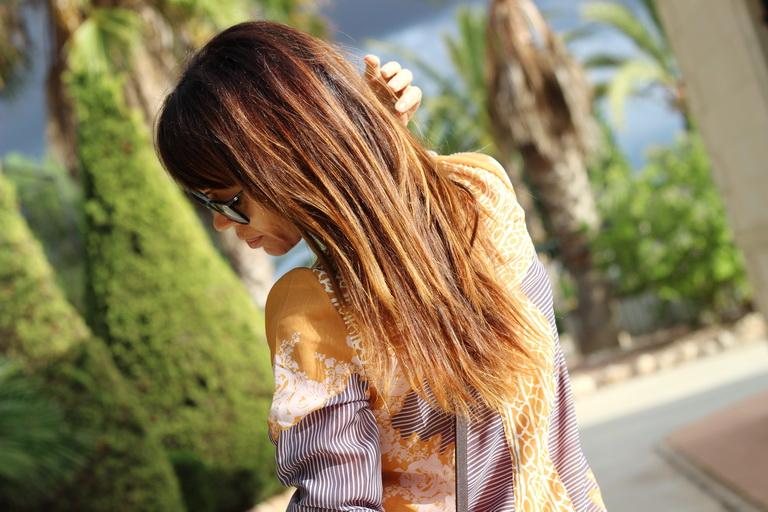 Shein, Dress, Fashion blogger, Mustard, Tendencias 2015, Blogger