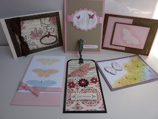Stampin Up! Convention - Melbourne 2011 - Butterfly Cards