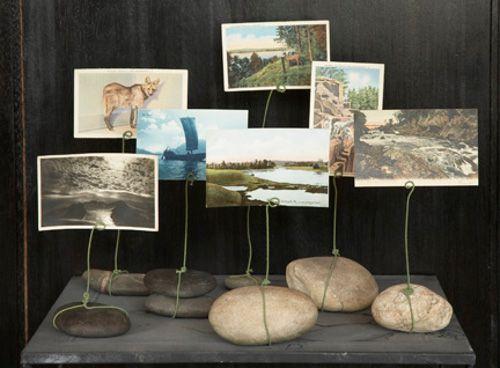 Como hacer portafotos con piedras como hacer - Como hacer pared de piedra ...