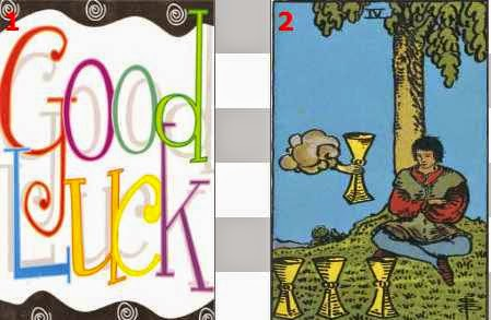 June 2015 Lucky Numebers and Days Tarot Oracle