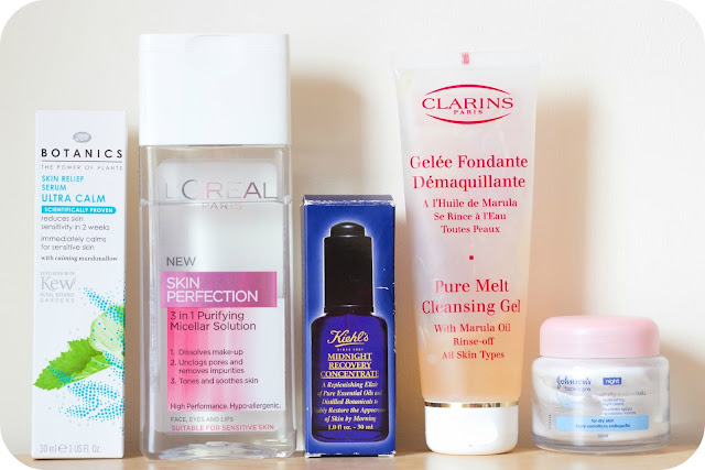 Top 5 Products for Dry Skin