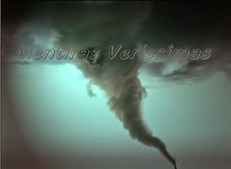 Imagem de um tornado