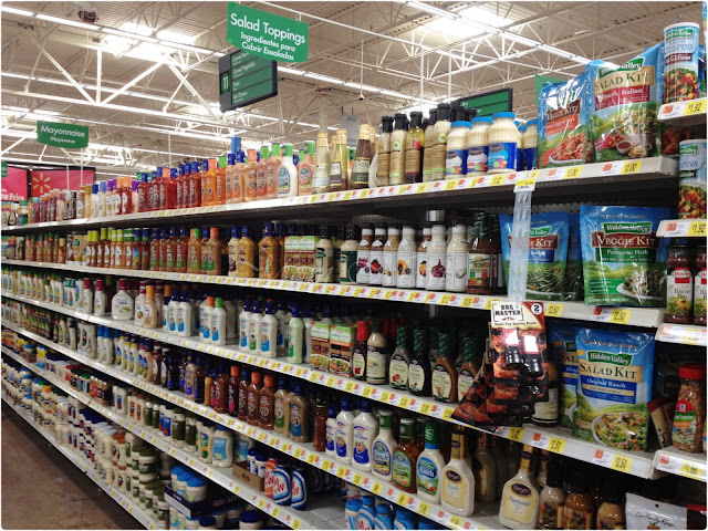 Salad Topping Aisle